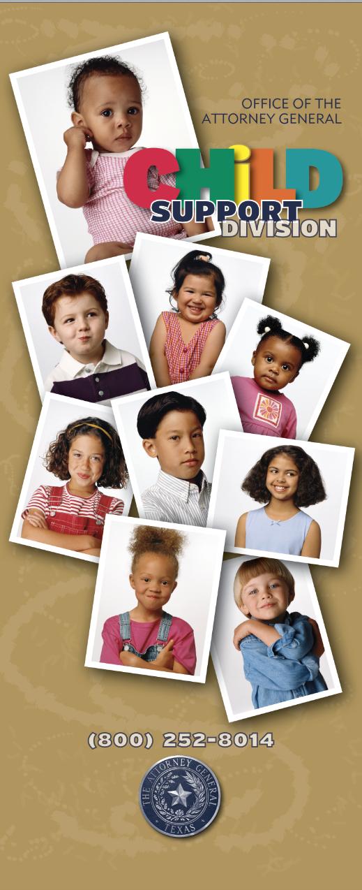 Child Support Division Outreach Banner – xochitl colarusso