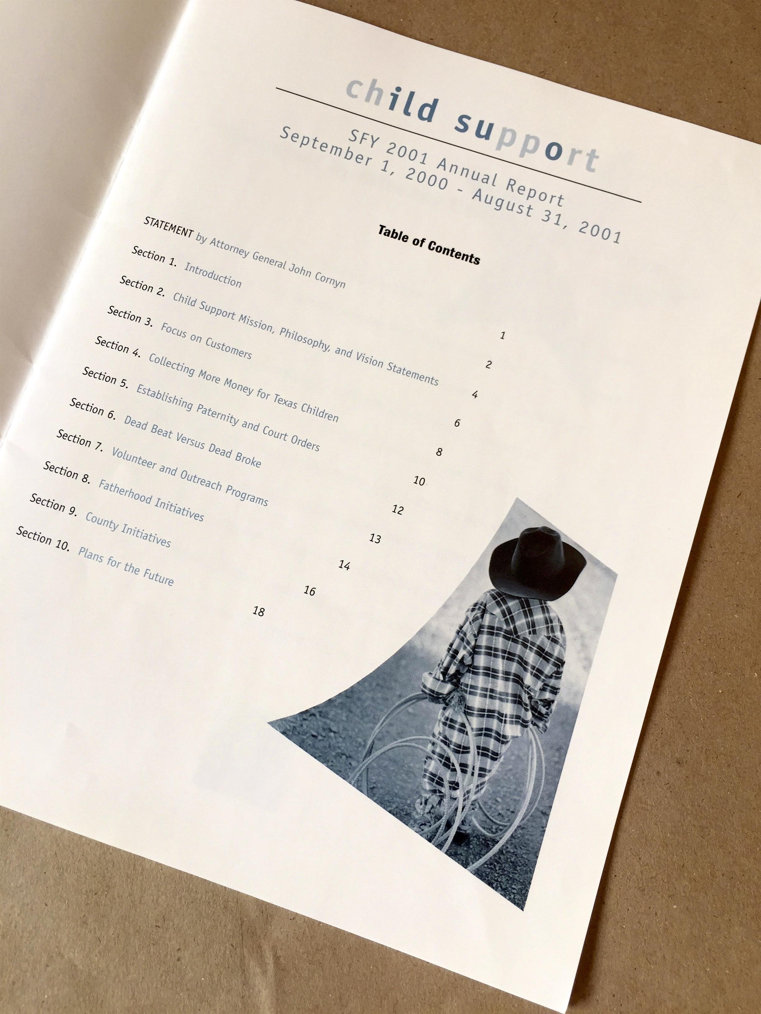 Child Support Division Annual Report – xochitl colarusso